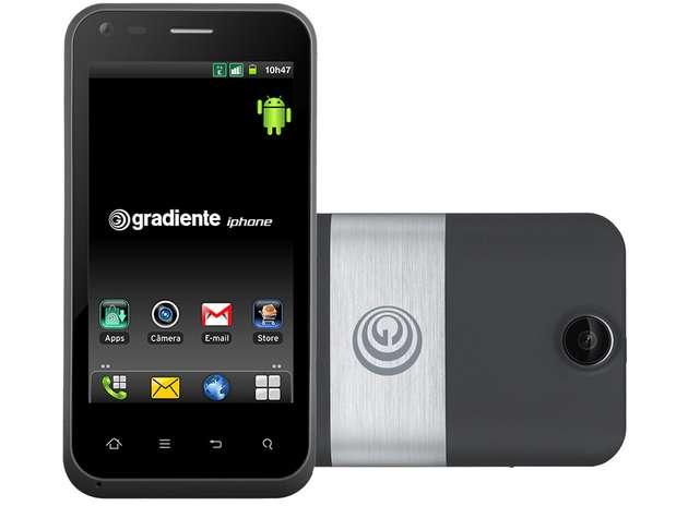 Smartphone topo de linha da marca aceita dois chips e tela de 3,7 polegadas Foto: Divulgação