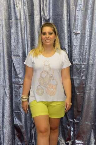 Shorts curto também faz parte do guarda-roupa plus size Foto: Divulgação