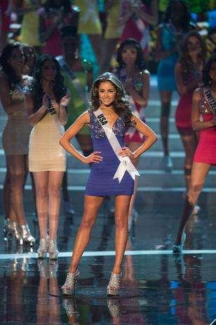 Aos 20 anos, Olivia Culpo, representante dos Estados Unidos, venceu o concurso Miss Universo 2012, nessa quarta-feira (19) Foto: Divulgação