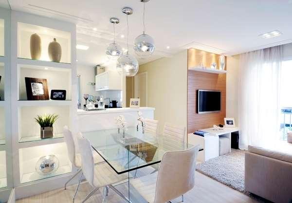 Sala De Tv Retangular Pequena ~ todo o espaço da sala para criar miniambientes A parede da TV