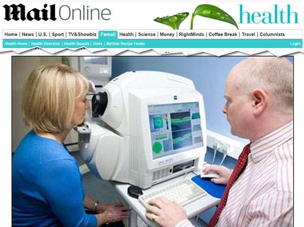 O teste leva apenas alguns minutos e pode ser realizado em consultórios médicos Foto: Daily Mail / Reprodução