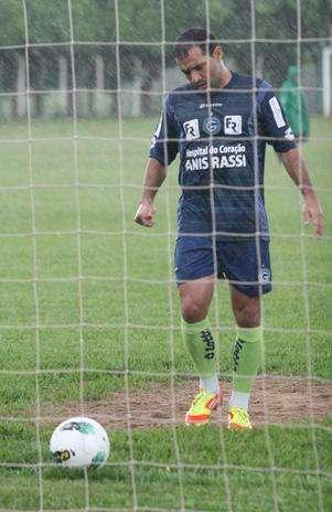 Iarley deixou o Goiás para reforçar o Paysandu Foto: Rosiron Rodrigues/Goiás EC / Divulgação
