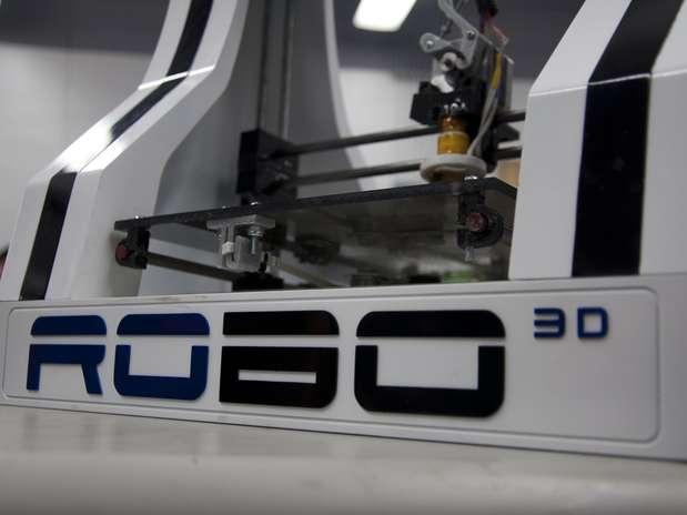 Grupo promete que impressora RoBo 3D será vendida por US$ 520 Foto: Divulgação