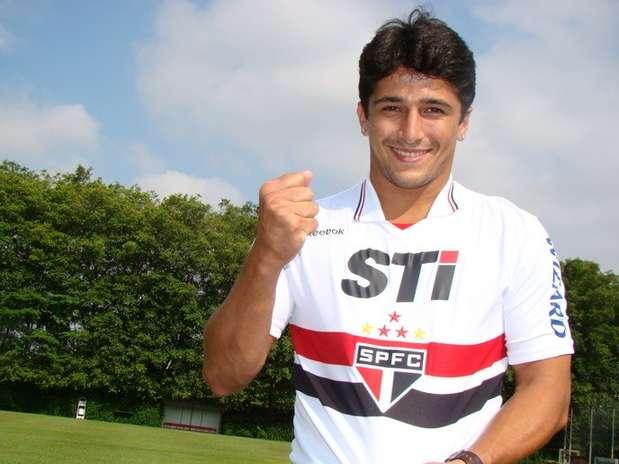 Após marcar 14 gols pelo Figueirense no Brasileiro, Aloísio é o novo atacante do São Paulo Foto: São Paulo F.C. / Divulgação