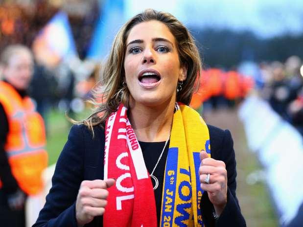 Carolyn Radford foi atração da partida entre Liverpool e Mansfield Foto: Getty Images