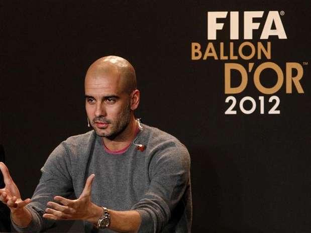 Indicado pela Fifa como um dos três melhores técnicos de 2012, Guardiola assume Bayern em julho Foto: Arnd Wiegmann / Reuters