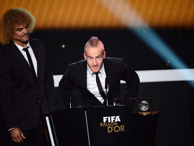Mirolav Stoch, do Fenerbahce, desbanca Neymar e leva Prêmio Puskás Foto: AFP