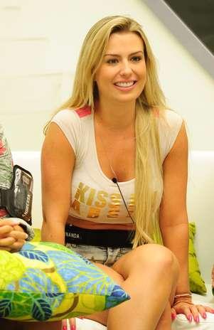 Fernanda conquistou o coração de André Foto: TV Globo / Divulgação