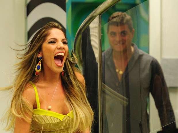 Anamara foi elogiada pelos colegas Foto: TV Globo / Divulgação
