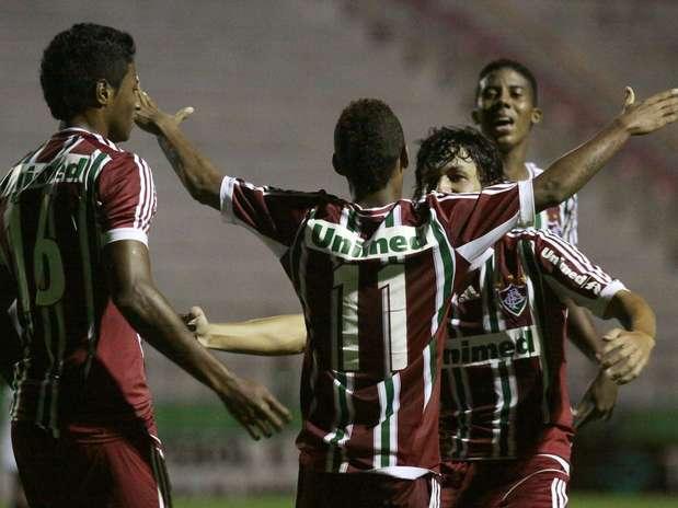 Fluminense perdeu gols no primeiro tempo, mas comemorou na etapa final Foto: Bê Caviquioli / Futura Press