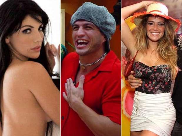 Anamara, Kleber Bambam e Fani Pacheco são três dos ex-BBBs que entraram na atual edição do programa Foto: Divulgação