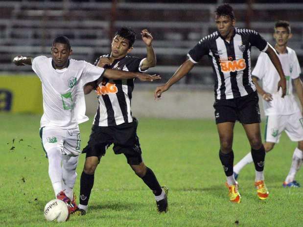 Atlético-MG e Rio Preto flertaram com empate, que seria resultado ruim para as duas equipes Foto: Jose Luiz Silva / Futura Press