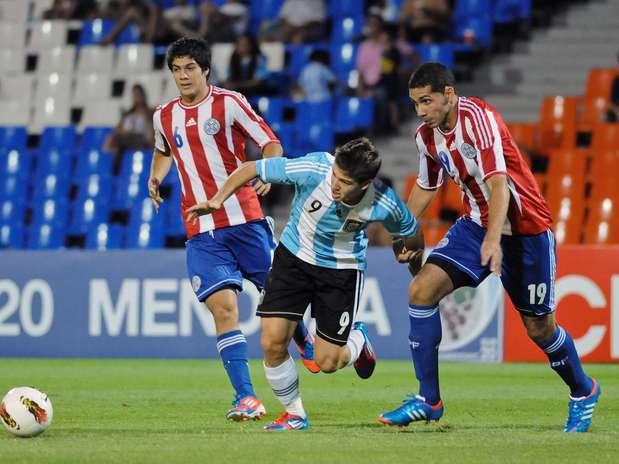 Vietto até marcou o primeiro gol do jogo, mas a Argentina sofreu a virada no segundo tempo Foto: AP