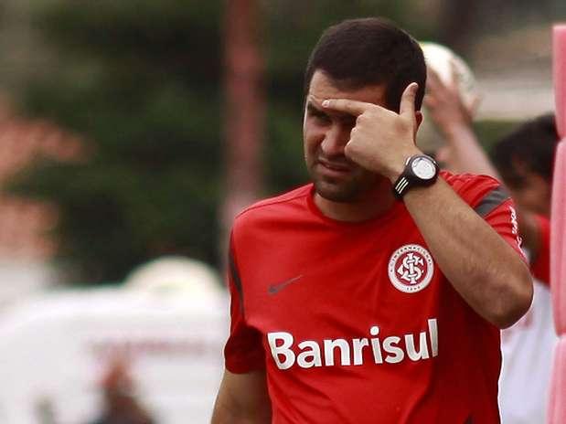 Inter chegou a empatar no segundo tempo, mas perdeu com gol de falta e deu adeus à competição Foto: Bê Caviquioli / Futura Press