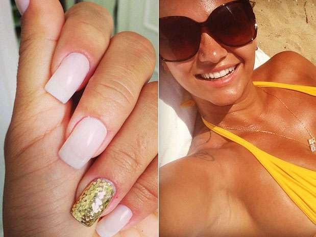 """Kelly Key encarou a tendência \""""filha única\"""" com aplicação dourada  Foto: Instagram / Divulgação"""