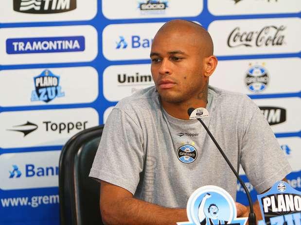 Gabriel rescindiu com o Grêmio na quarta-feira Foto: Lucas Uebel/Grêmio FBPA / Divulgação