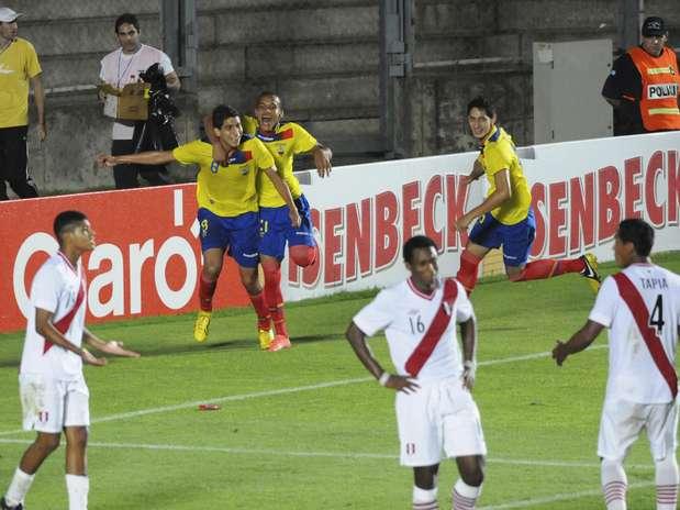 Vitória manteve as chances de classificação do Equador na competição Foto: AP