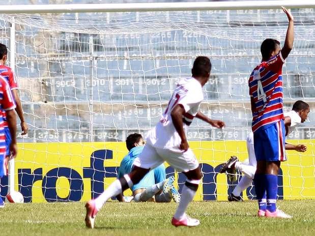 Com dois gols no começo do jogo, São Paulo venceu Fortaleza por 4 a 0 e passou às quartas de final Foto: Bê Caviquioli / Futura Press