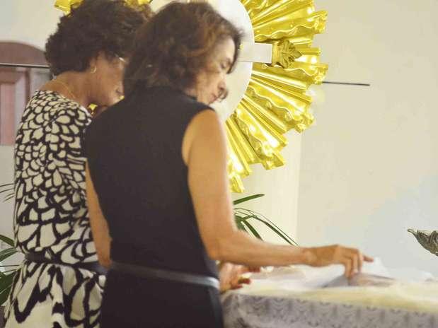 Corpo de Walmor é cremado na cidade de São José dos Campos, neste sábado (19), após velório reservado à família e amigos Foto: Nilton Cardin / Agência Estado