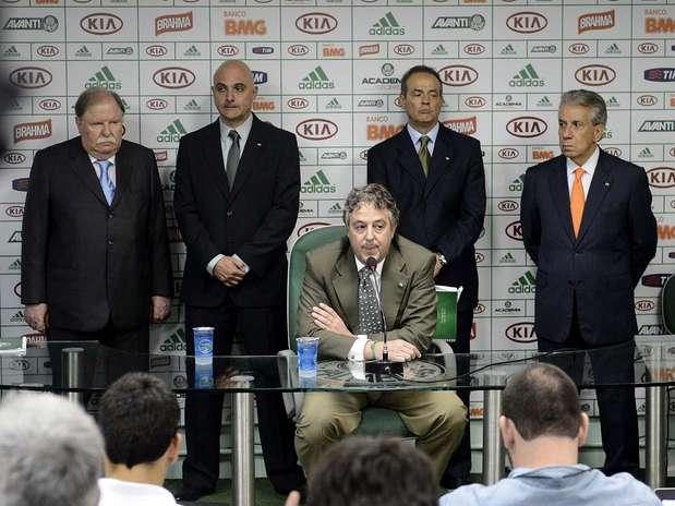 Paulo Nobre fala pela primeira vez como presidente do Palmeiras Foto: Ricardo Matsukawa / Terra