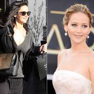 Jennifer Lawrence aparece com os cabelos pretos aps Oscar. Foto: The Grosby Group