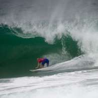 Mundial de Surfe: surpresa australiana manda Slater e Medina  repescagem. Foto: Mauro Pimentel