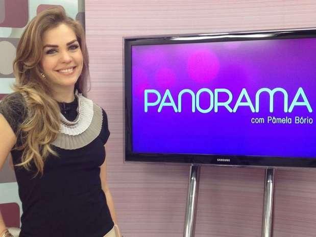 A primeira-dama é também apresentadora de TV Foto: Reprodução