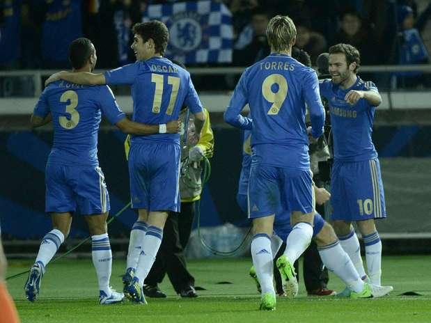 Chelsea fez jogo tranquilo e venceu os mexicanos do Monterrey por 3 a 1 Foto: Ricardo Matsukawa / Terra