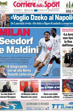 Foto: Corriere dello Sport/Reprodução