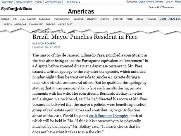 Foto: The New York Times/Reprodução