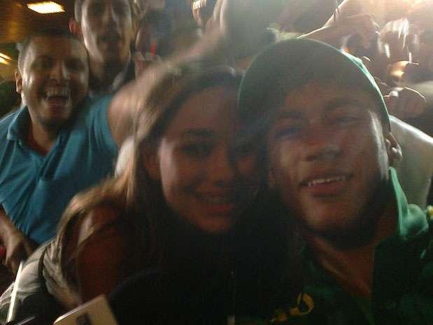 Foto: Foto tirada por Neymar/Reprodução