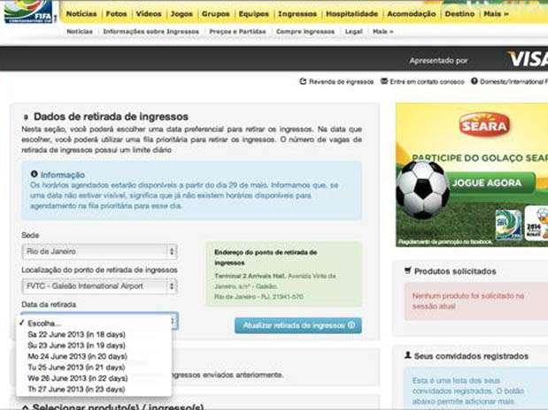 Foto: Fifa.com.br/Reprodução