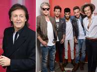 Paul McCartney y One Direction en el mismo escenario en Lima