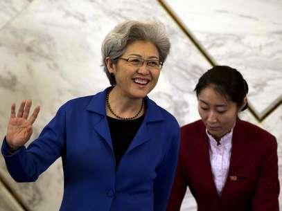 Fu Ying discursou em Pequim nesta segunda-feira Foto: AP
