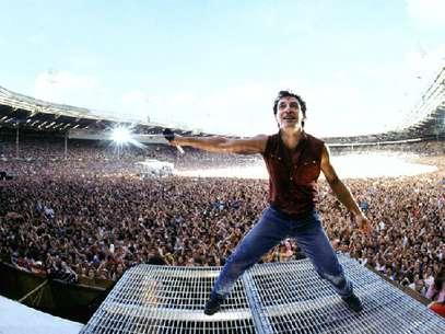 Bruce Springsteen no Estádio Wembley Foto: Neal Preston