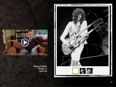 No ebook, é possível ver as fotos e comentários do autor sobre momentos marcantes Foto: Neal Preston