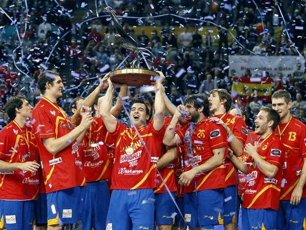 Em casa, Espanha faturou o Mundial masculino pela 2ª vez Foto:  / EFE