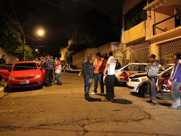 Policial foi morto na noite desta segunda-feira em Diadema, na Grande São Paulo Foto: Nivaldo Lima / Futura Press
