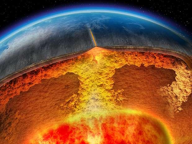 Para pesquisadores, pela primeira vez há consenso sobre temperatura do núcleo da Terra Foto: BBCBrasil.com
