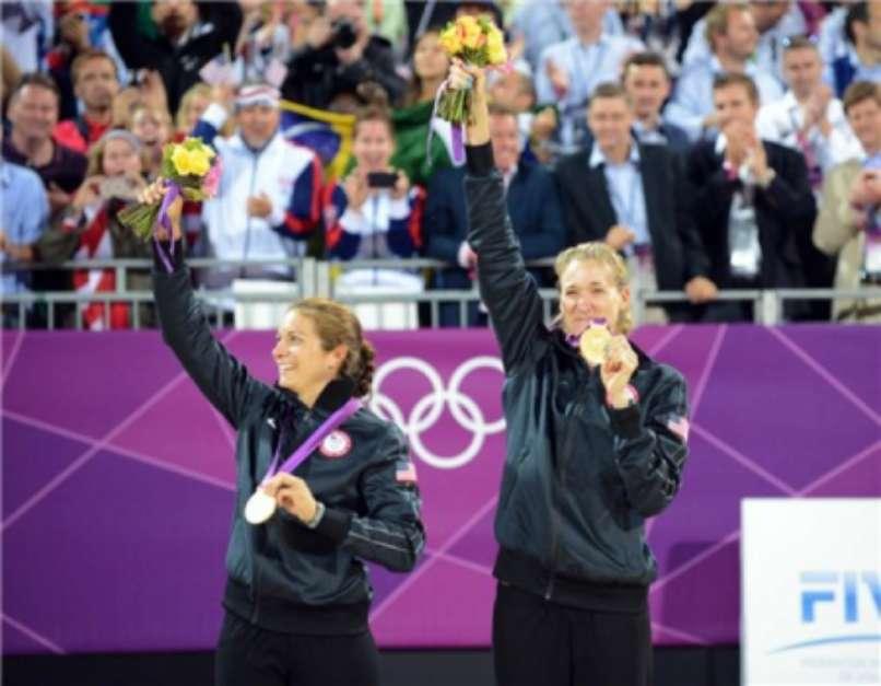 Em Pequim 2008, Walsh e Misty também foram ouro (Foto: Divulgação/FIVB) Foto: Divulgação/FIVB / LANCE!