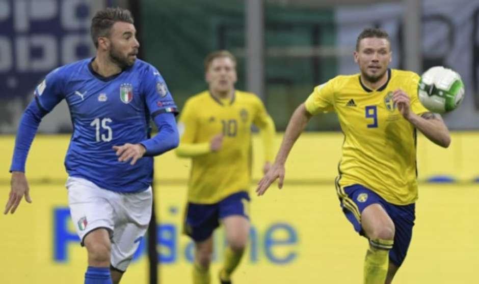 Veja imagens de Itália e Suécia Foto: Miguel Medina / AFP / LANCE!