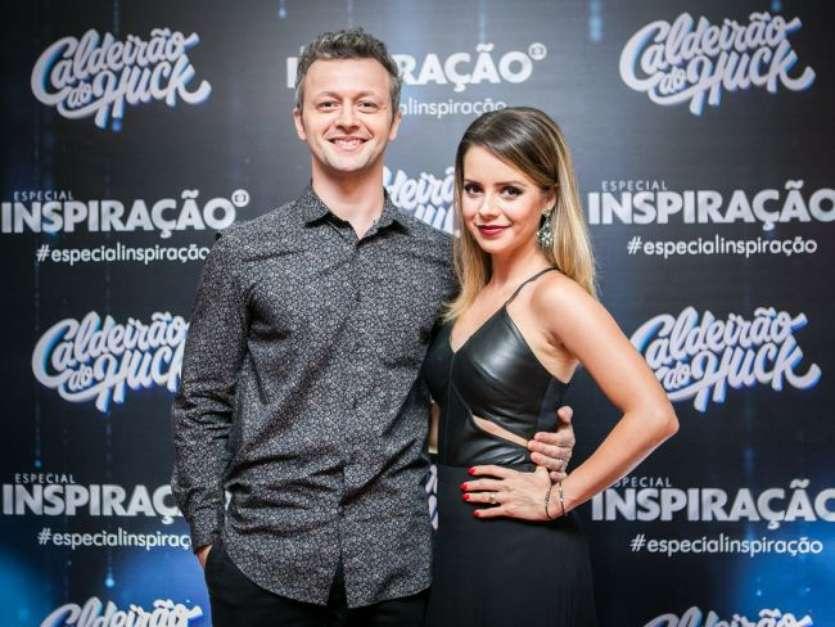 Sandy conta que pediu Lucas Lima em namoro, no 'Estrelas do Brasil', em 2 de dezembro de 2017 Foto: Divulgação / TV Globo / PurePeople