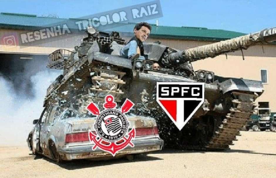Brasileirão: os memes de São Paulo 1 x 0 Corinthians Foto: Reprodução / Humor Esportivo