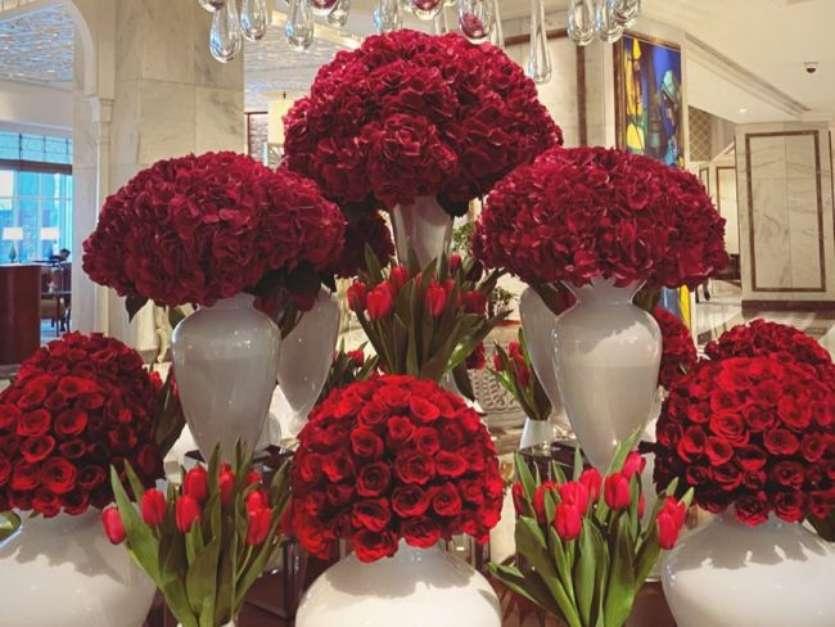 Veja rosas de Grazi Massafera em dia dos namorados na Índia Foto: Instagram, Grazi Massafera / PurePeople